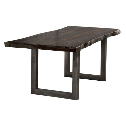 Emerson Gray Sheesham Rectangle Dining Table