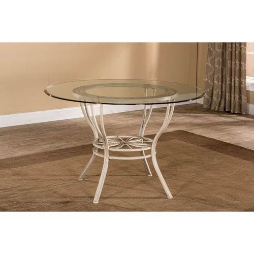 Napier Aged Ivory Round Dining Table