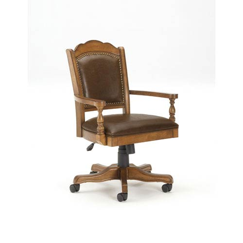 Nassau Brown Game Table Chair