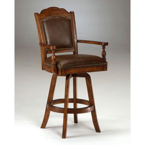 Hillsdale Furniture Nassau Brown Game Barstool