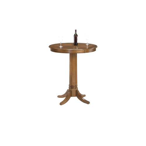 Hillsdale Furniture Warrington Rich Cherry 42 Inch High Pub Table