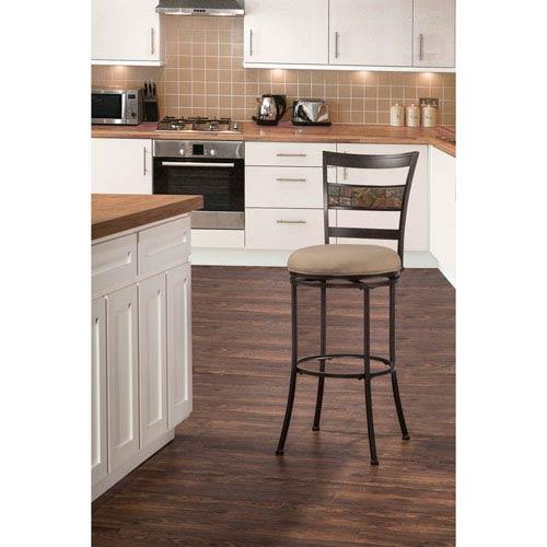 Hillsdale Furniture Indoor / Outdoor Henning Swivel Bar Stool