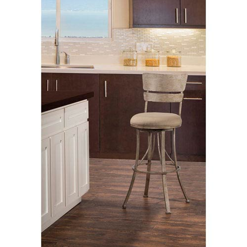 Hillsdale Furniture Indoor / Outdoor Wakefield Swivel Counter Stool