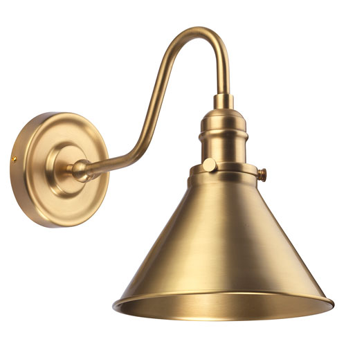 Provence Aged Brass One-Light Wall Sconce