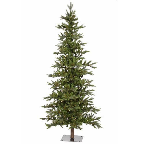 Vickerman Shawnee Green Fir 6 Foot x 42-Inch Christmas Tree with 250 Warm White LED Lights