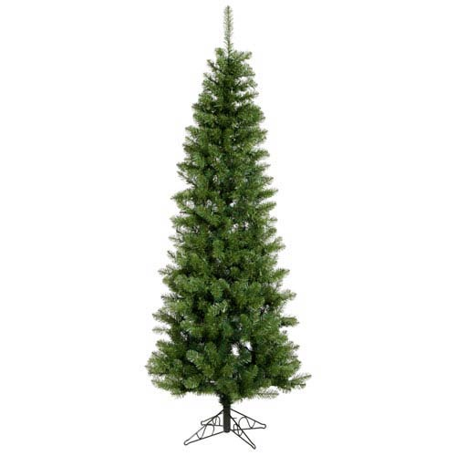 Vickerman Salem Pencil Pine 6.5-Foot Christmas Tree w/493 Tips