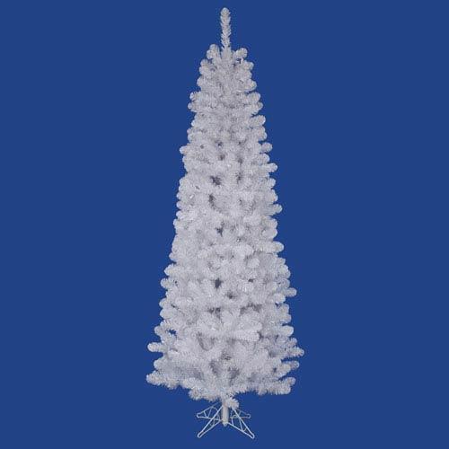 Vickerman White Salem Pencil Pine 4.5-Foot Christmas Tree w/217 Tips
