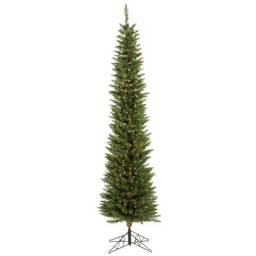 Durham Pole Pine 7.5 Ft. Artificial Tree with 225 Warm White LED Lights