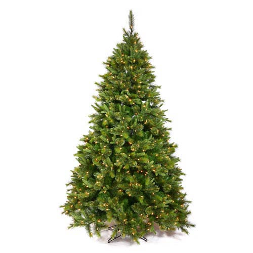 Vickerman Green Cashmere Pine Christmas Tree 5.5-foot