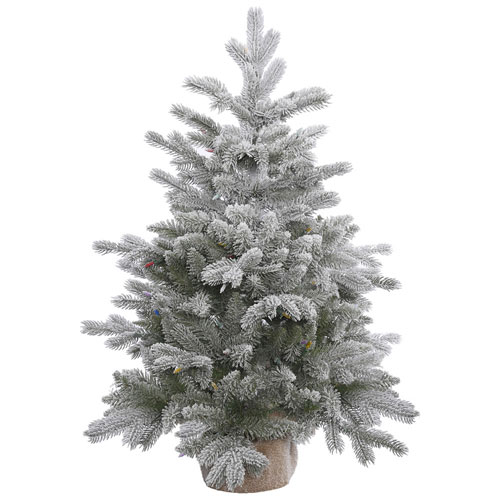36 In. Frosted Sable Pine Tree