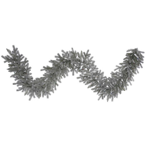 9 Ft. Frosted Sable Pine Garland