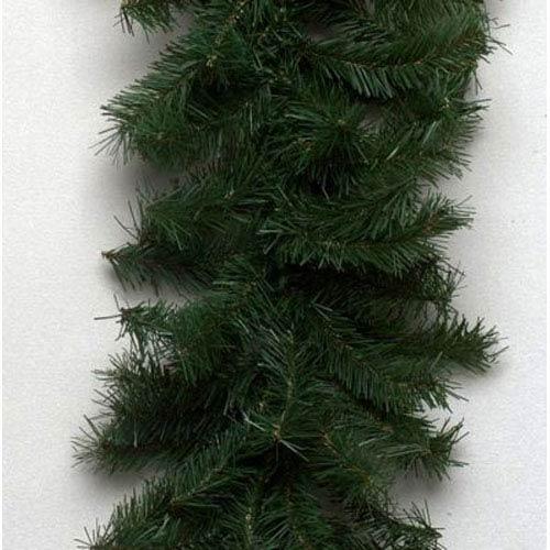 Green Canadian Pine Garland 10-inch