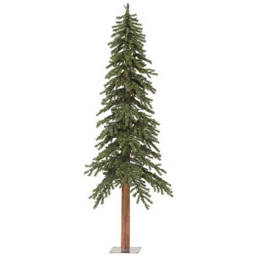 Green 6 Foot Natural Alpine Tree