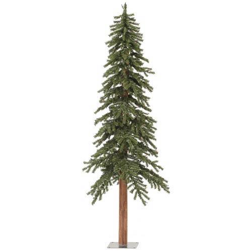Green 6 Foot Natural Alpine Tree