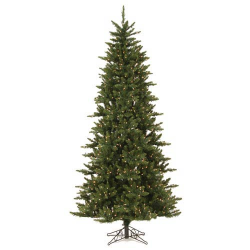 7.5-Ft. x 45-In. Pre-Lit Camdon Fir Slim Tree with 700 Clear Lights