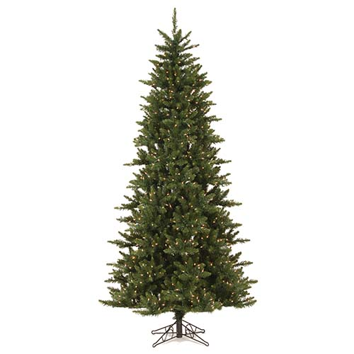 Camdon Fir Slim Green 12 x 66-Inch Christmas Tree with 1450 Warm White LED Lights