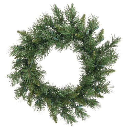 Green Imperial Pine Wreath 18-inch