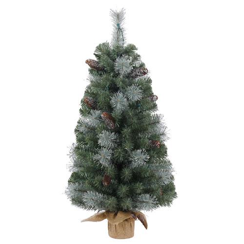 Vickerman 36 In. Shasta Blue Mix Pine Tree
