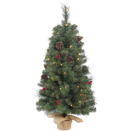 36 In. Wesley Mixed Pine Tree