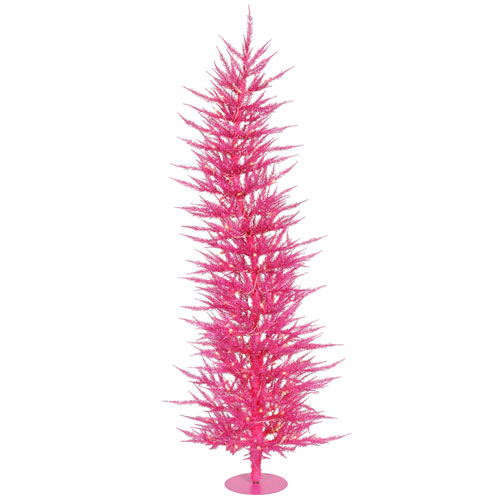 4 Ft. Pink Laser Tree