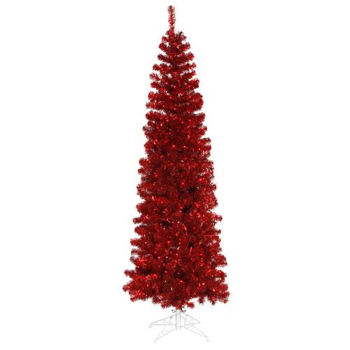 Vickerman 6 Ft. 6 In. Red Pencil Tree