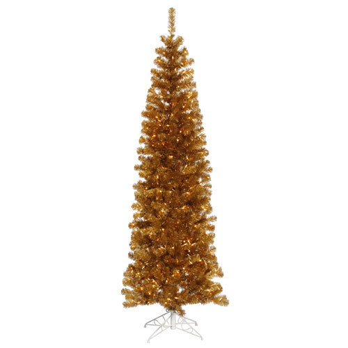 6.5 Ft. Antique Gold Pencil Tree
