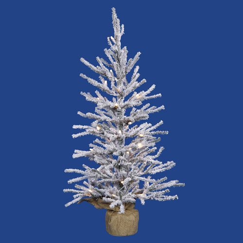 36 In. Flocked Angel Tree