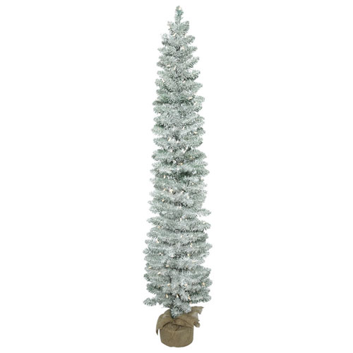 Vickerman 5 Ft. Frosted Pole Pine