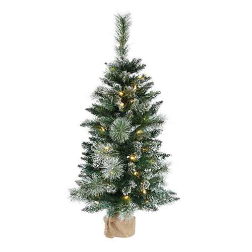 3 Ft. Mix Snow Tip Tree