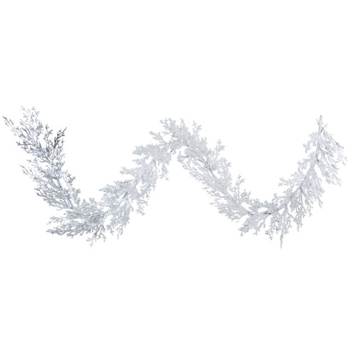 9 Ft. Flocked Winter Twig Garland