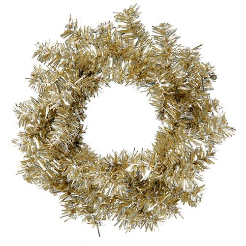 Vickerman Champagne Mini Wreath 6-inch