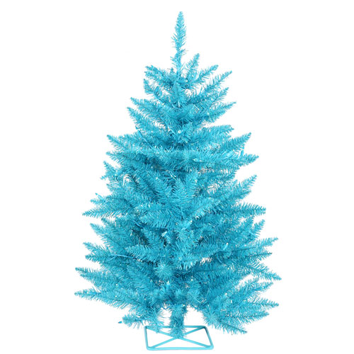 3 Ft. Sky Blue Tree