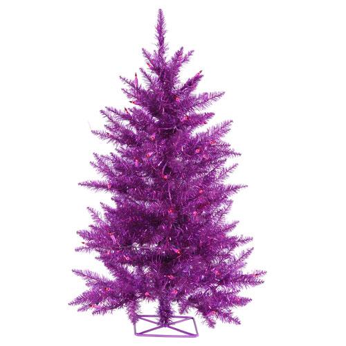 2 Ft. Purple Tree