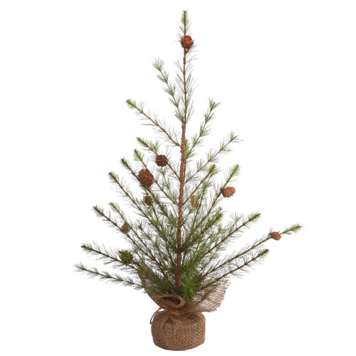 24 In. Missoula Pine Tree with Cone