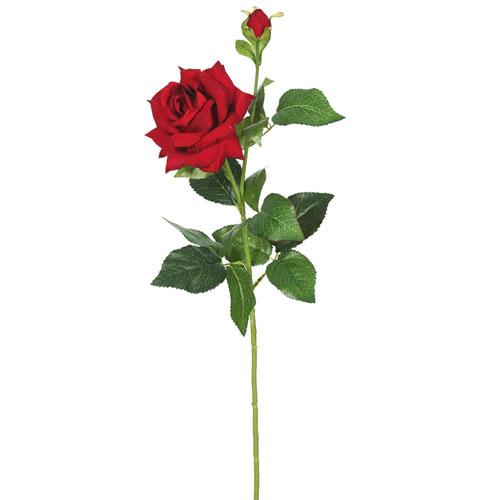 Vickerman Velvet Red Rose, Set of Three