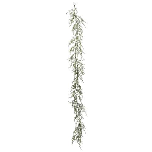 Vickerman 6 Ft. Green Fairhill Leaf Garland