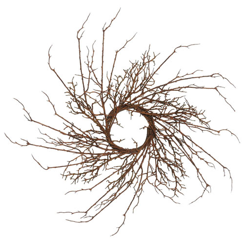 30 In. Thicket Imitated Branch Wreath