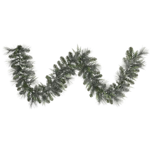 9 Ft. Frosted Mix Pine Garland