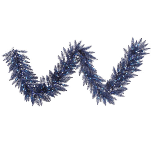 9 Ft. Navy Blue Garland