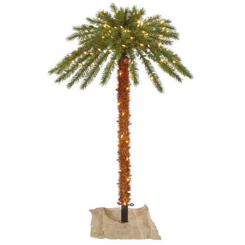 Vickerman 6 Ft. Outdoor Palm Tree
