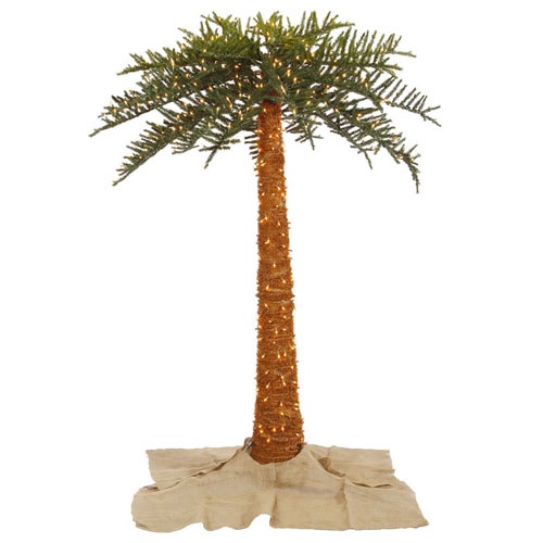 8 Ft. Outdoor Royal Palm Tree