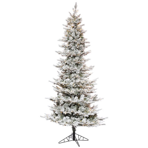 7 Ft. 6 In. Flocked Kiana Tree