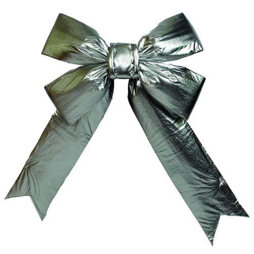 Silver 3.5-Inch Indoor Bow