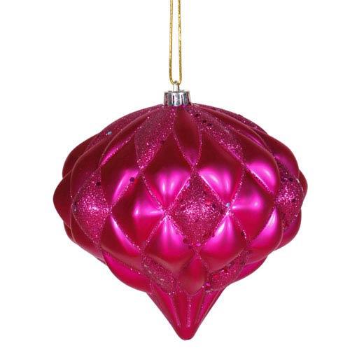 Cerise Diamond Ornament 5.7-inch