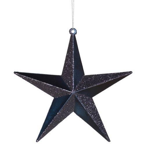 Sea Blue Star Ornament 6-inch