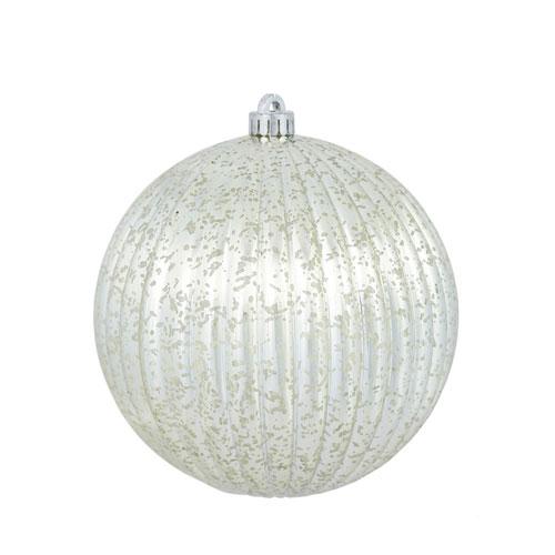 Vickerman Champagne Mercury Pumpkin Ball Ornament