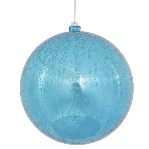 Turquoise Shiny Mercury Ball
