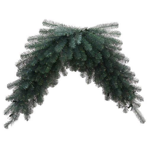 Blue Crystal 48-Inch Pine Swag Garland