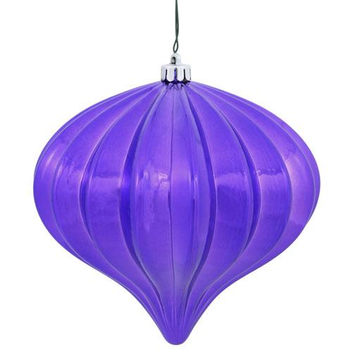 Purple Shiny Onion UV Drill, Set of Three