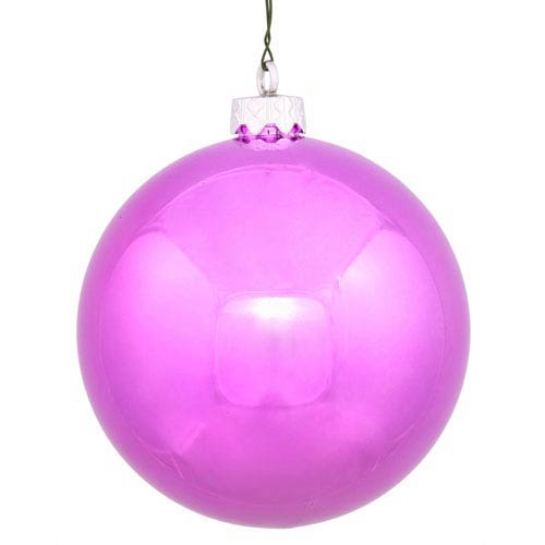 Orchid Pink 4 Finish Ball Ornament 60mm